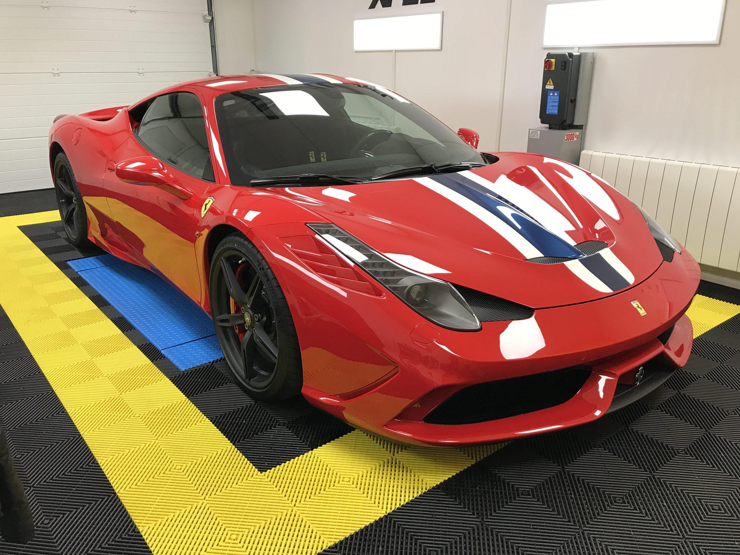 Ferrari 458 Spéciale le mans auto racing