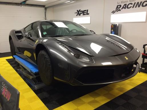 Ferrari 488 GTB 2016 Le Mans Auto Racing